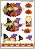 Witch Friends PDF Decoupage Download