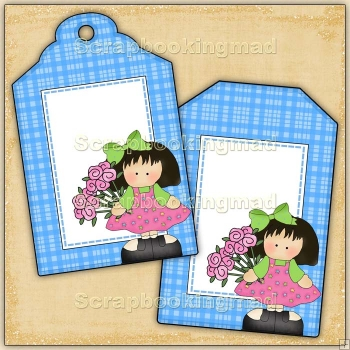Thinking Of You Gift Tags - REF_T666 & REF_T667