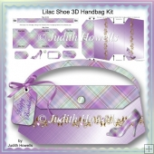 Lilac Shoe 3D Handbag Kit