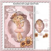 Sunshine Girl Large Card Front