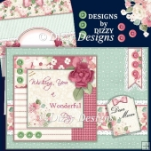 Buttons and Blooms Card Kit