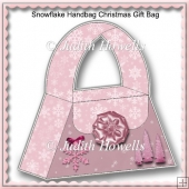 Snowflake Handbag Christmas Gift Bag