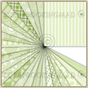 50 Green Backing Paper Downloads