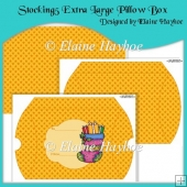 Stocking 5 Extra Large Pillow Box