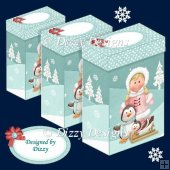Eskimo Girl and Friends Gift Boxes
