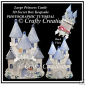 Princess Castle Large Secret Box Keepsake Tutorial