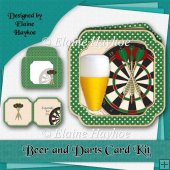 Beer and Darts Card Kit