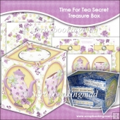 Time For Tea Secret Treasure Box