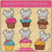Cupcake Mice Graphic Collection - REF - CS