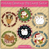 Holiday Greetings Graphic Collection - REF - CS