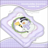 Snowbuddies Snowman Notelet Set