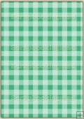 A4 Backing Papers Single - Green Gingham - REF_BP_148