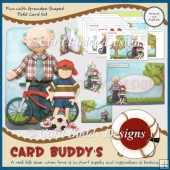 Fun with Grandpa Shaped Fold Card Kit