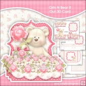 Grin N Bear It Pop Out 3D Card & Envelope