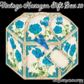 Vintage Hexagon Gift Box 10