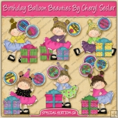 Birthday Balloon Beauties Collection - SPECIAL EDITION