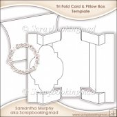 Tri Shutter Card & Pillow Box Template CU OK