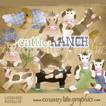 Cattle Ranch Clip Art Download