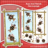 Buzz And Friends Decoupage Download