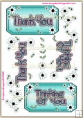 Thank You ~ Thinking Of You PDF Decoupage Download