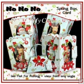 Ho Ho Ho - Spring Box Card