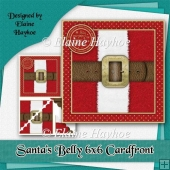 Santas Belly Cardfront