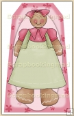 Ginger Bread Girl (5) Decorative Tag