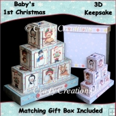 Baby Boy's 1st Christmas Keepsake
