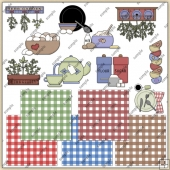 Kitchen ClipArt Graphic Collection