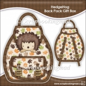 Hedgehog Backpack Gift Box