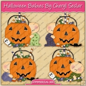 Halloween Babies Graphic Collection - REF - CS