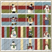 24 Snowman Quick Cards PDF Download