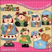 Raggedy Bumpkins ClipArt Graphic Collection