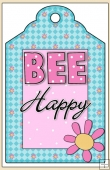 Bee-Cause Your Are Special Gift Tag - REF_T606