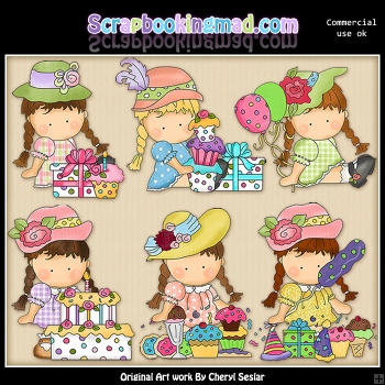 Agnus Has A Birthday ClipArt Collection