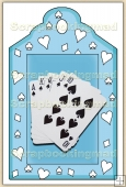 Cards Royal Flush (1) Decorative Tag - REF_T51