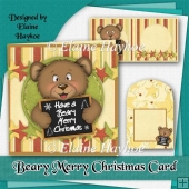 Beary Merry Christmas Card Kit