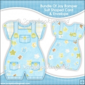 Bundle Of Joy Romper Suit Shaped Card