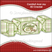 Comfort and Joy 3D Cracker Gift Box