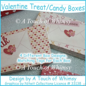 Valentine Treat/Candy Boxes