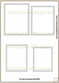 Stamp Template Overlay in 10 Sizes PDF Sheet