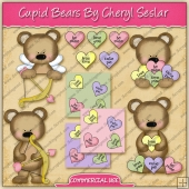 Cupid Bears Graphic Collection - REF - CS