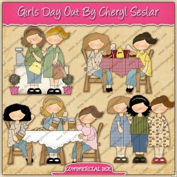 Girls Day Out Graphic Collection - REF - CS