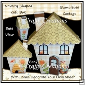 Novelty Shaped Gift Box - Bumblebee Cottage