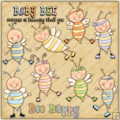 Baby Bumbles ClipArt Graphic Collection