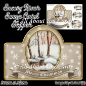 Snowy River Scene Card Topper