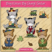 Boy Kitties Graphic Collection - REF - CS