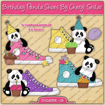 EXCLUSIVE Birthday Panda Shoes Collection