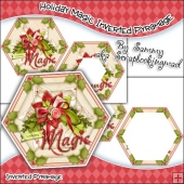 Holiday Magic Hexagon Inverted Pyramage