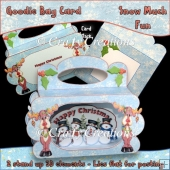 Snow Much Fun Goodie Bag Card